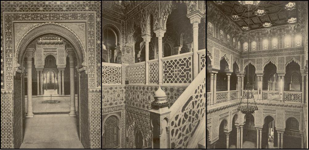 Interior del Palacio Xifré de Madrid