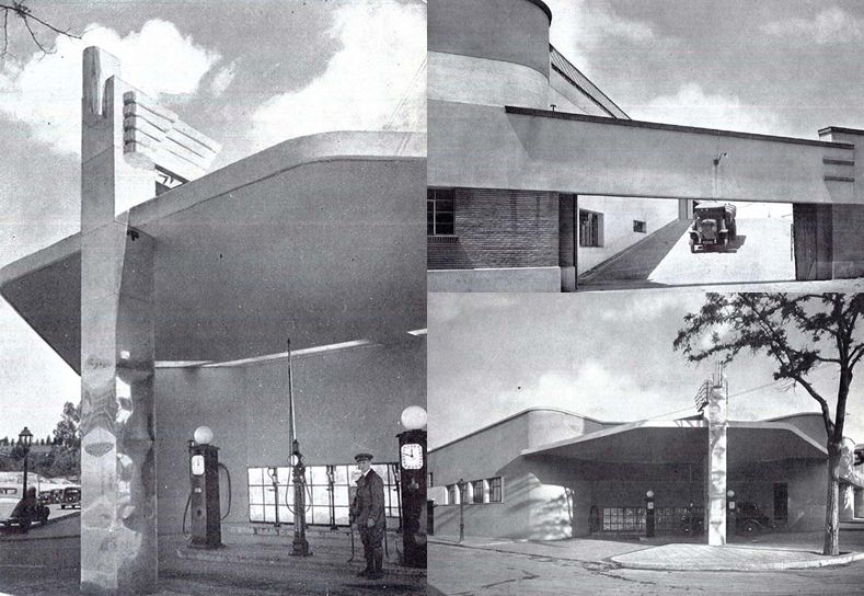 Madrid desaparecido Garaje SEIDA en Espronceda esquina Fdez de la Hoz