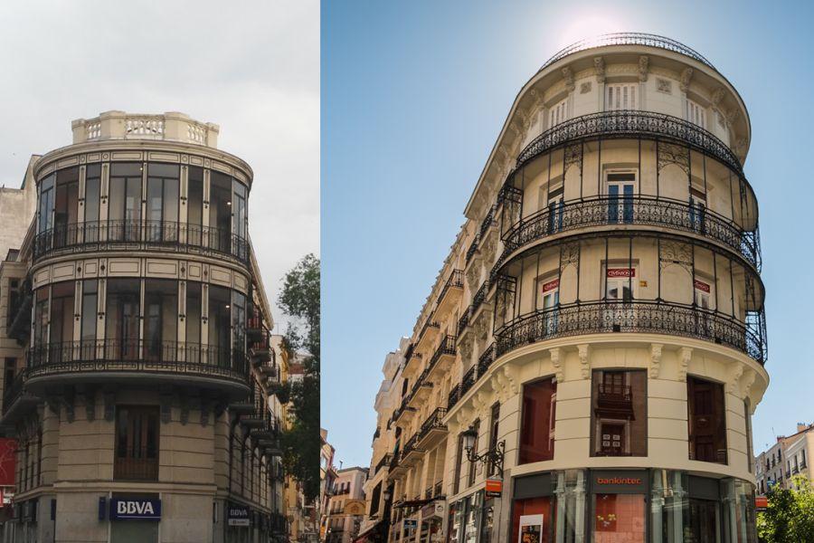 Miradores curvos en Madrid