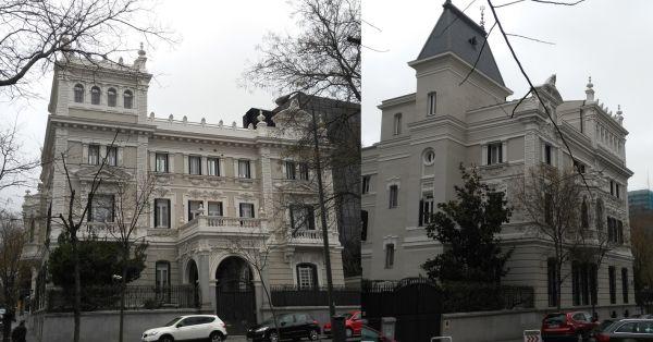 Palacete de Don Eduardo Adcoch en Madrid