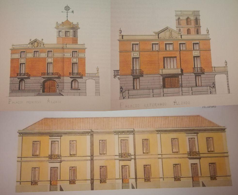 Palacios del Barrio de Indo en Madrid