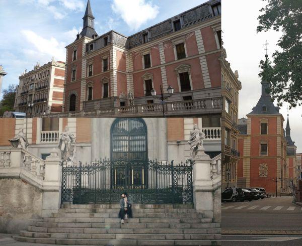 Salón de Reinos en el Madrid de Como Tú de David Otero