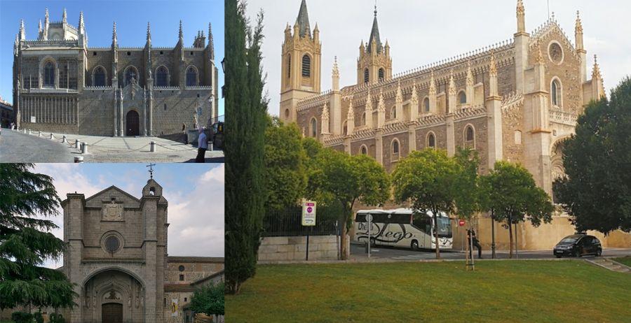 San Juan de los Reyes de Toledo y Los Jerónimos de Madrid