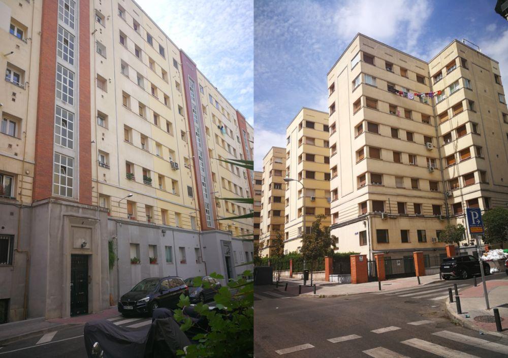 Viviendas del Patronato de Casas Militares Madrid Art Decó en María de Guzmán