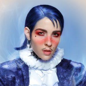 Artistas no binaries y su obra, como Flamboyant de Dorian Electra