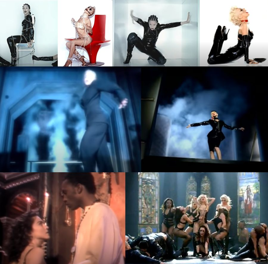 Bionic de Christina Aguilera, homenaje a Madonna