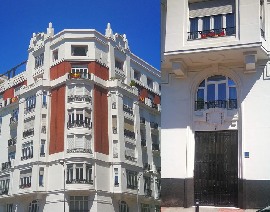 Edificios Art Decó en el primer Orgullo de Madrid