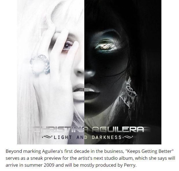 Justice For Bionic de Christina Aguilera, historia del disco