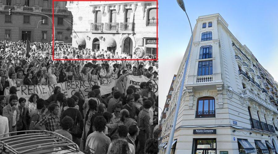 Menéndez Pelayo 33 en el primer Orgullo de Madrid