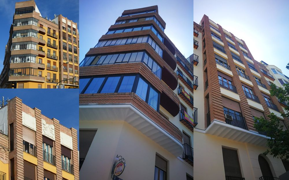 Menéndez Pelayo 47, edificio Art Decó de Madrid