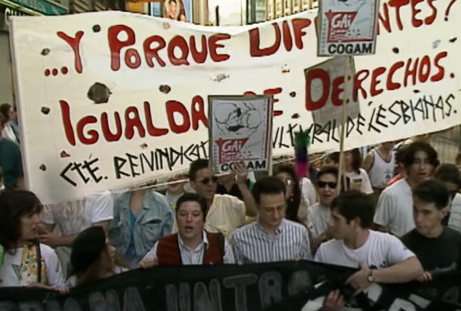 Orgullo de Madrid en 1993