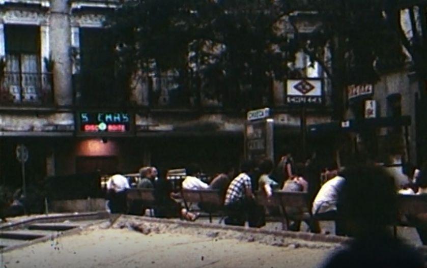 Plaza de Chueca de Madrid en los años 80
