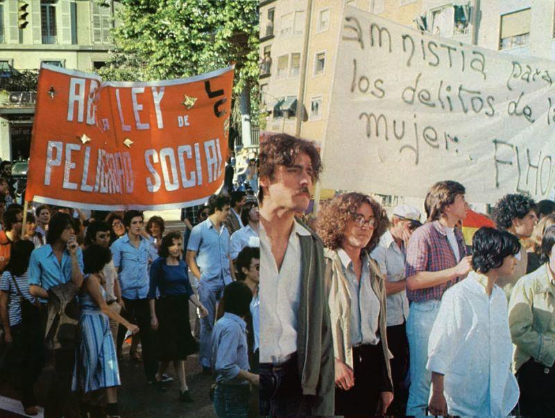 Primer Orgullo de Madrid y Ley Peligrosidad Social
