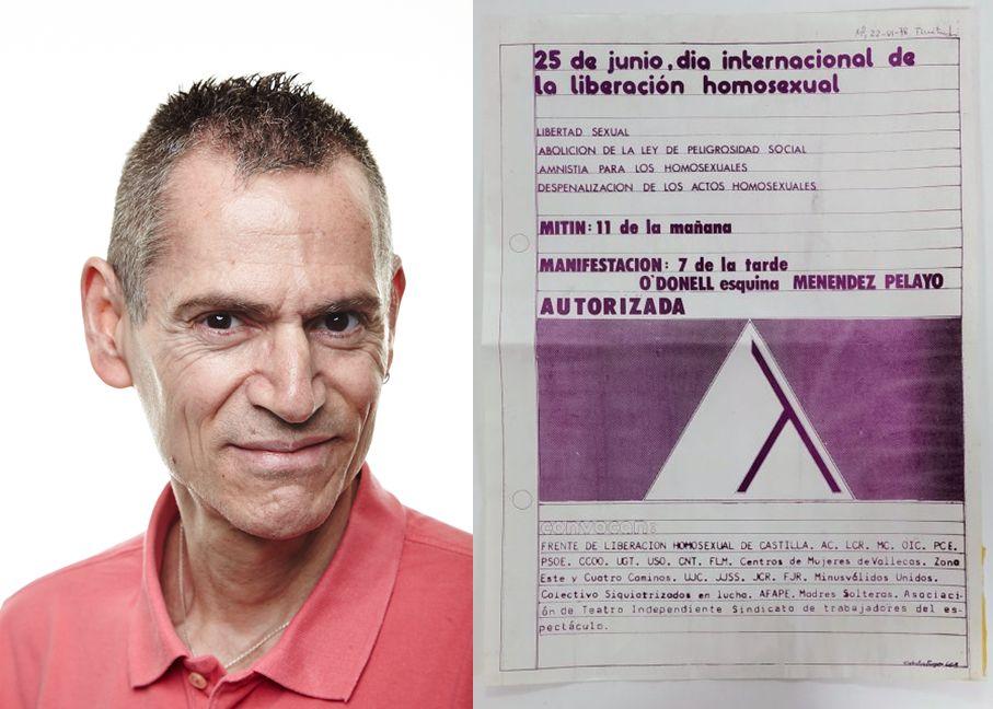 Primer Orgullo de Madrid y Ramón Linaza