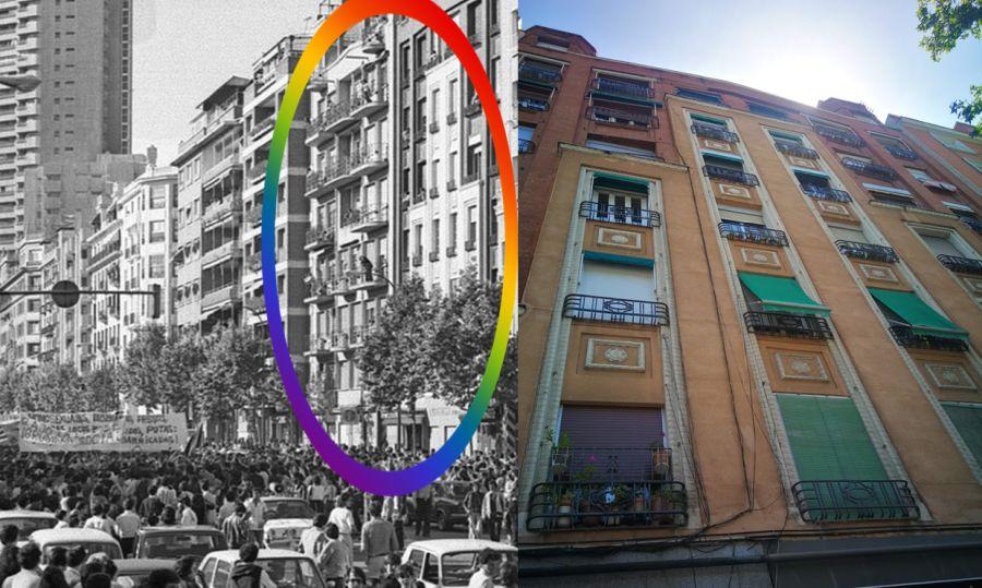 Recorrido del primer Orgullo de Madrid y Art Decó