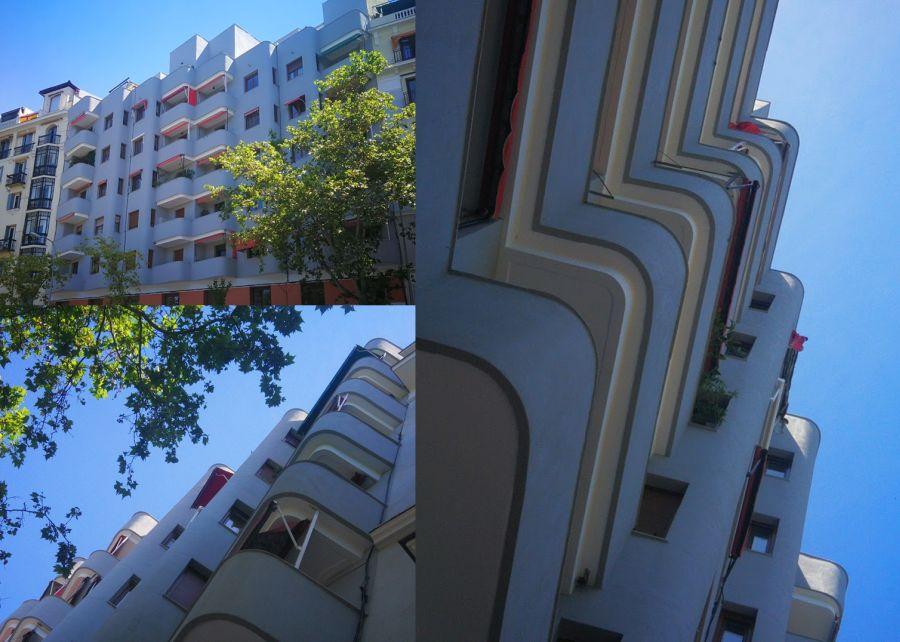 Streamline Moderne en el primer Orgullo de Madrid