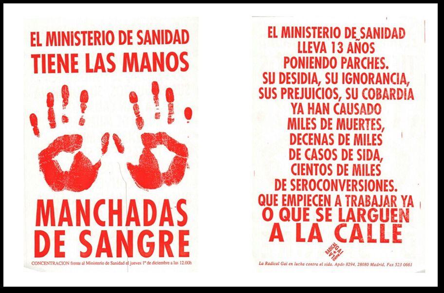 El Ministerio de Sanidad tiene las manos manchadas de sangre