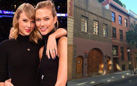 Karlie Kloss en Folklore de Taylor Swift