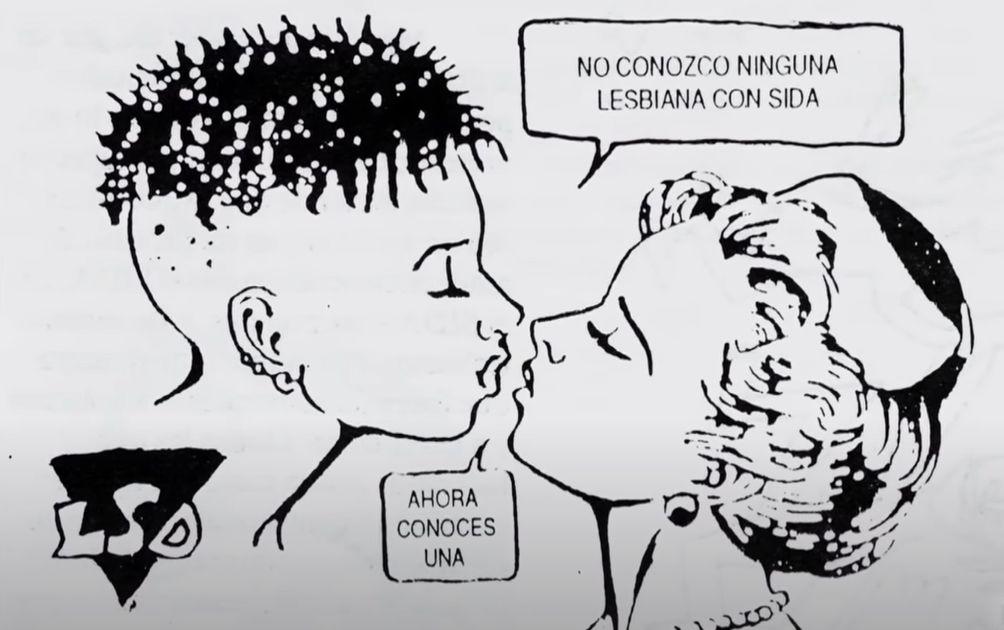 La solidaridad de las lesbianas frente al SIDA