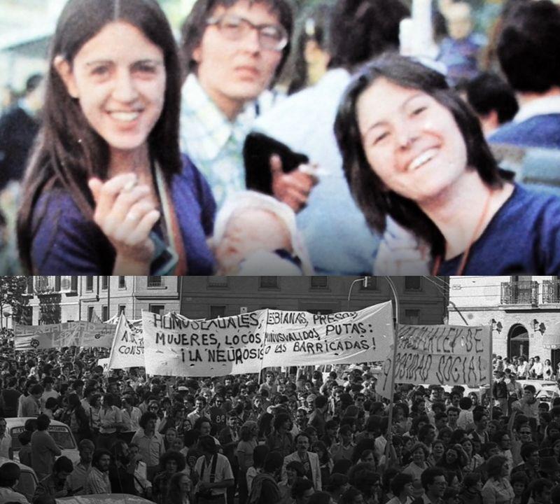 Lesbianas visibles en el primer Orgullo de Madrid