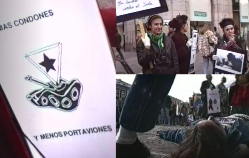 Protesta SIDA de LSD y Radical Gai