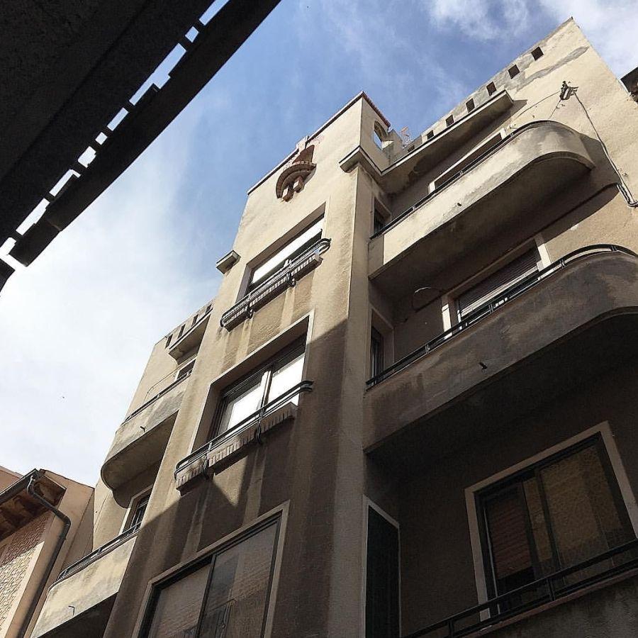 Calle Juan Bravo de Segovia y su Streamline Moderne