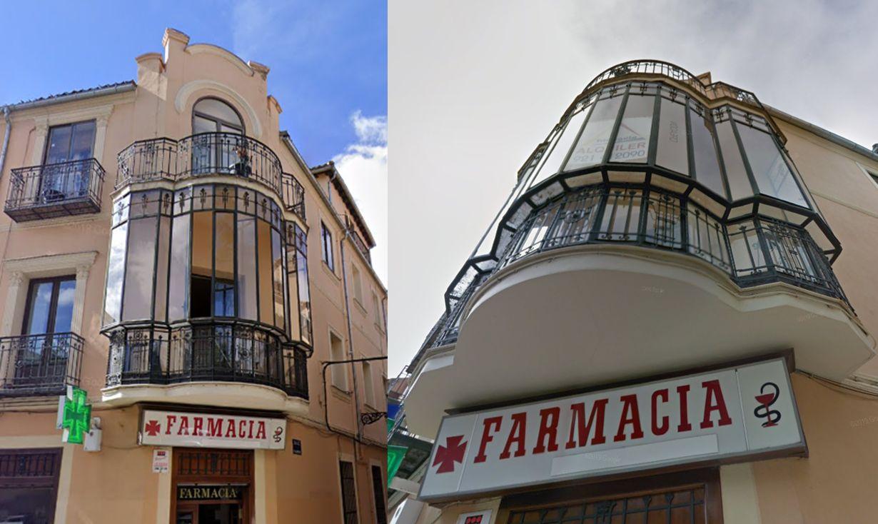 Modernismo en Segovia, calle Muerte y Vida