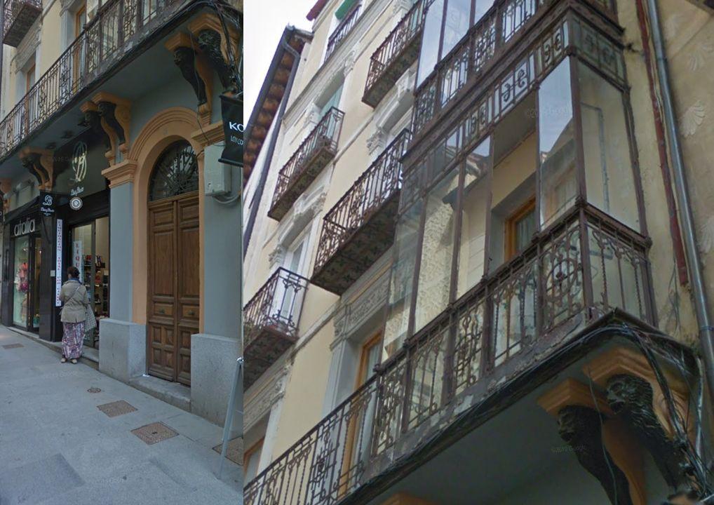 Modernismo en Segovia en la calle Isabel la Católica