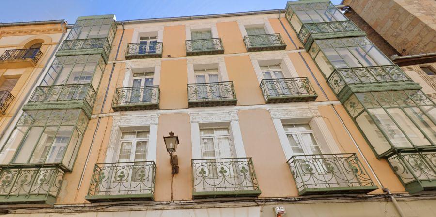 Modernismo en la calle Cronista Lecea de Segovia