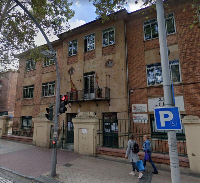 Racionalismo en Segovia, colegio Diego de Colmenares