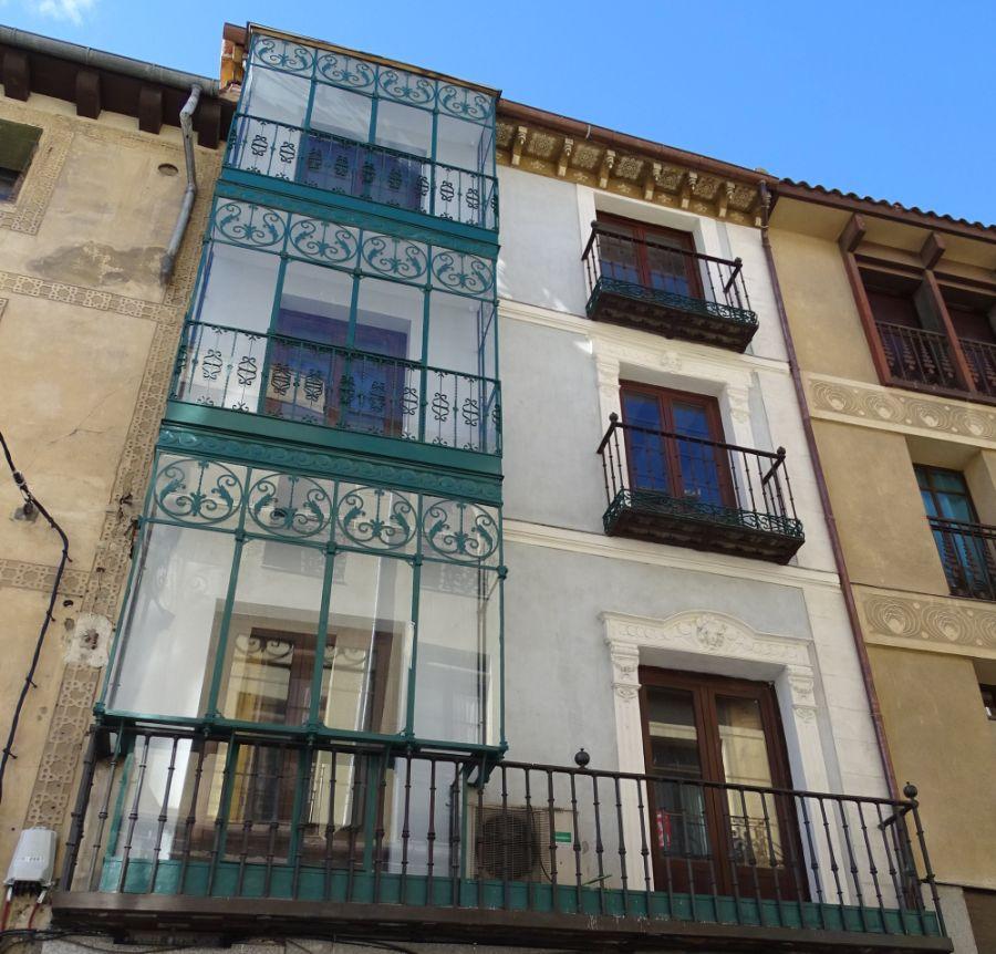 Segovia modernista en calle Cervantes