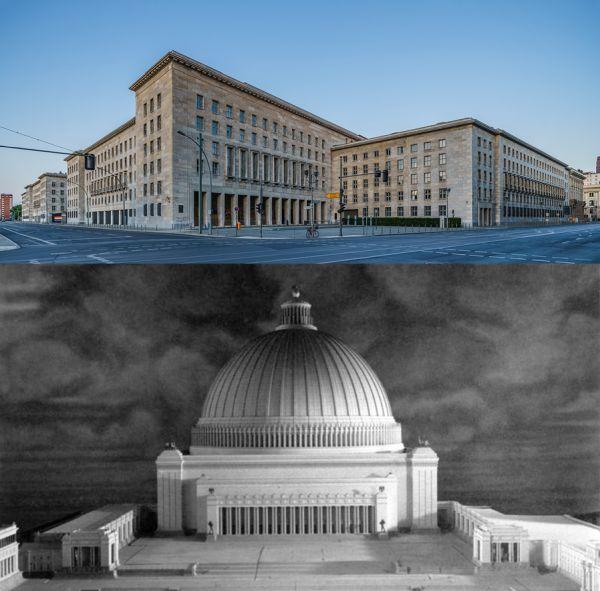 Arquitectura nazi o fascista parecida a Nuevos Ministerios
