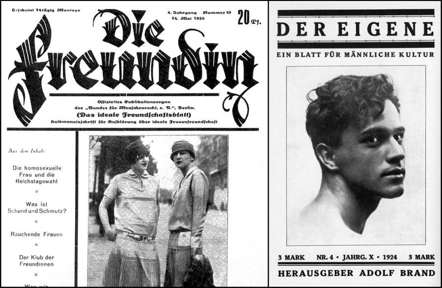Primeras revistas LGTB de la historia