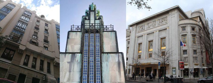 Art Decó prematuro en Madrid, Bruselas y París