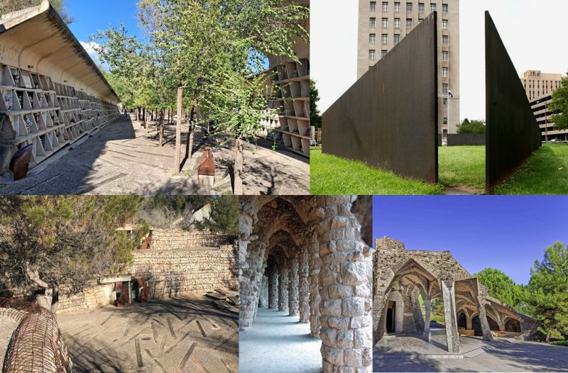 Cementerio de Igualada, Antoni Gaudí y Richard Serra
