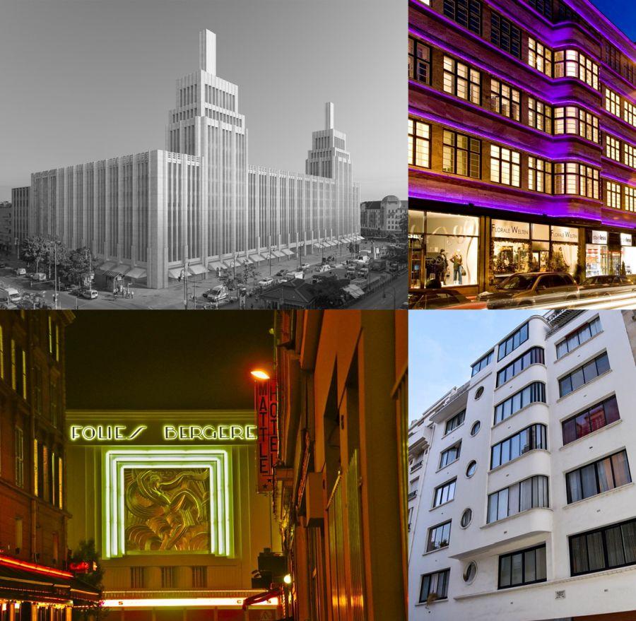 Película Víctor o Victoria y el París y Berlín Art Decó