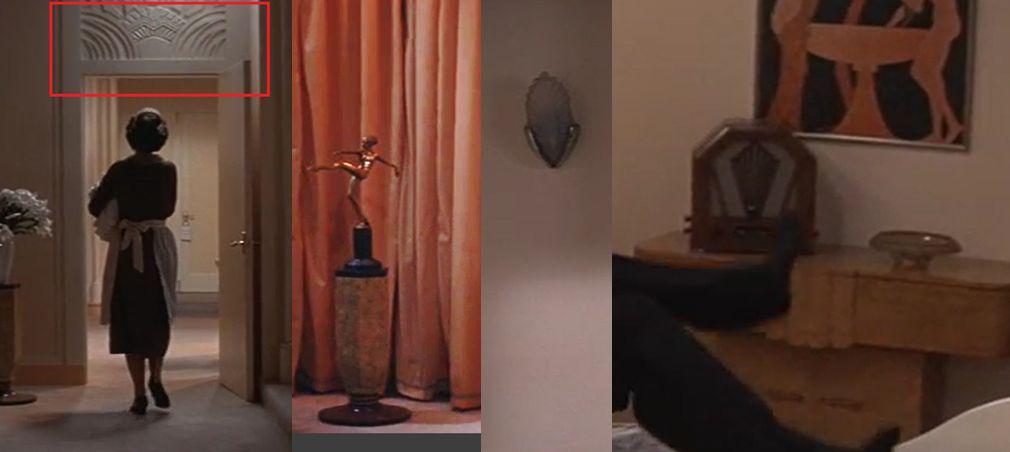 Radio Art Decó Zigzag Moderne y más en Víctor o Victoria