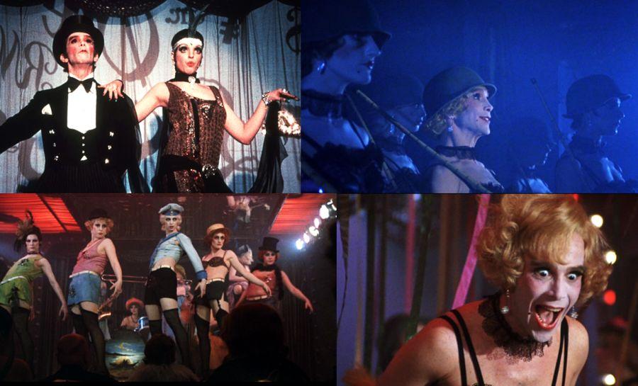 Transformismo y pluma en el cine, Cabaret