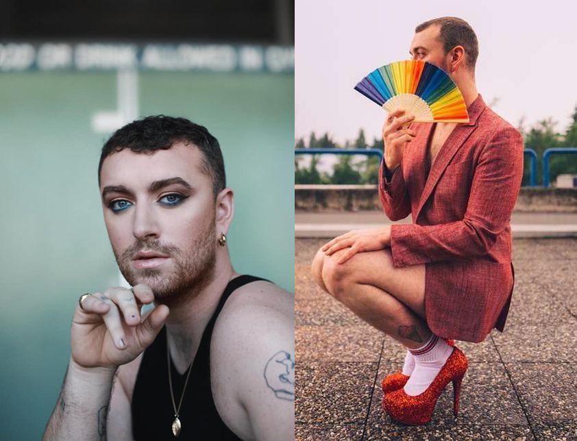 Estética queer en la era Love Goes de Sam Smith