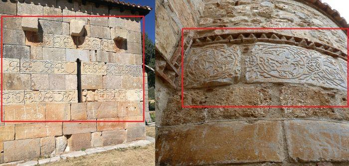 Arte omeya en Burgos y Grecia