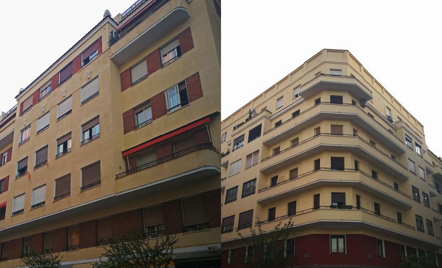 Alonso Cano 95 y 99 del Madrid Art Decó
