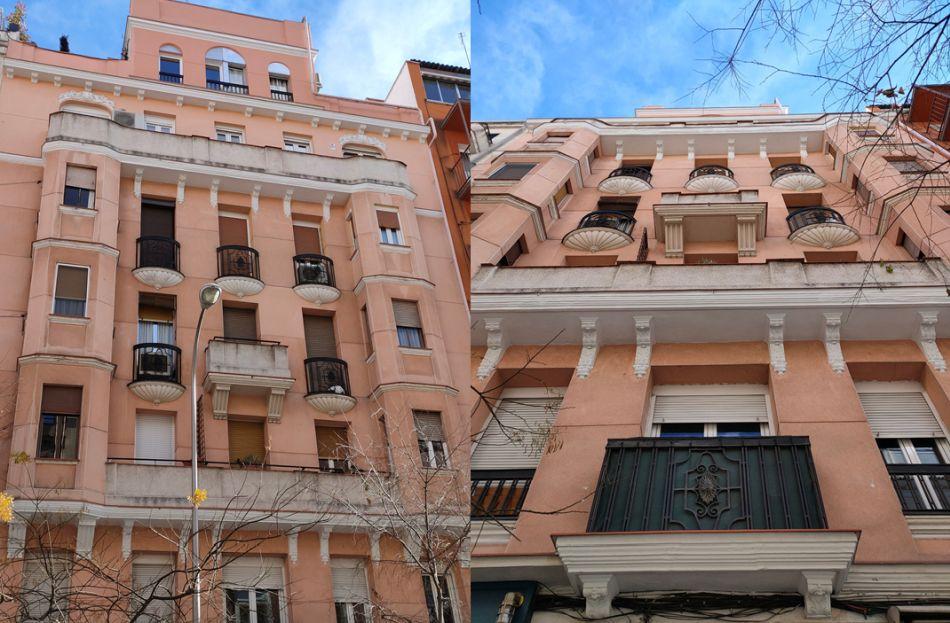 Art Decó Zigzag Moderne en la calle Vallehermoso de Madrid