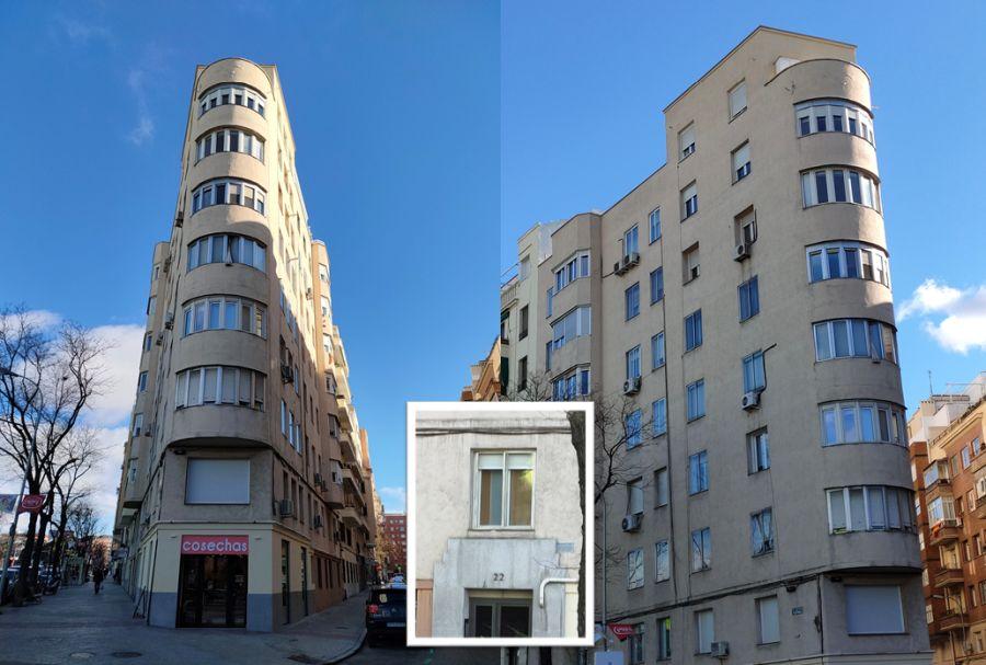 Art Decó en Avenida Filipinas 22 Viviendas para D Pedro Párbole Gutiérrez y D Francisco de la Cal