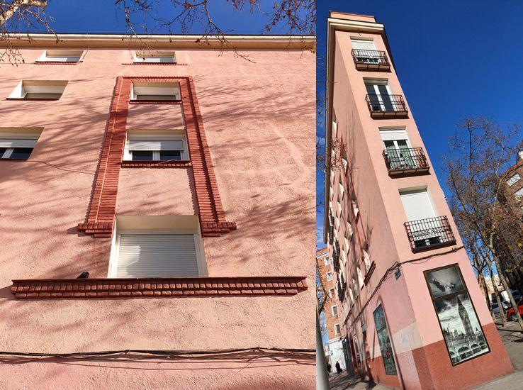 Avenida Pablo Iglesias 4, tímido Zigzag Moderne del Madrid Art Decó