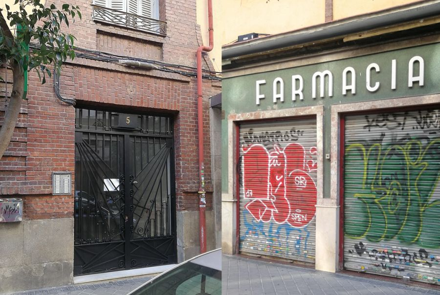 Calle Alenza Madrid Art Decó