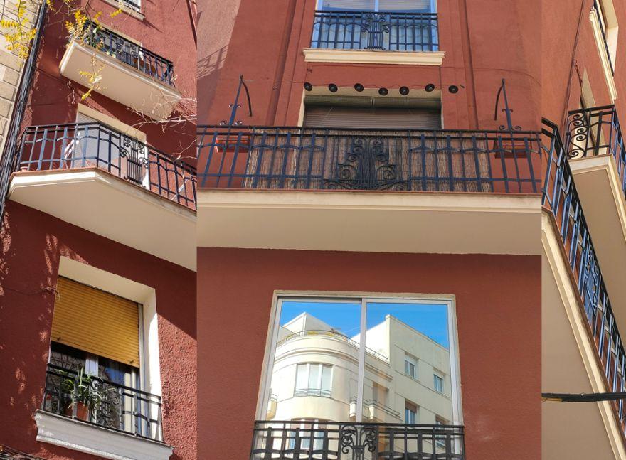 Calle Vallehermoso 93 Madrid Art Decó