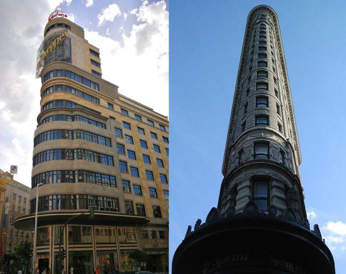 Edificios tipo Flatiron