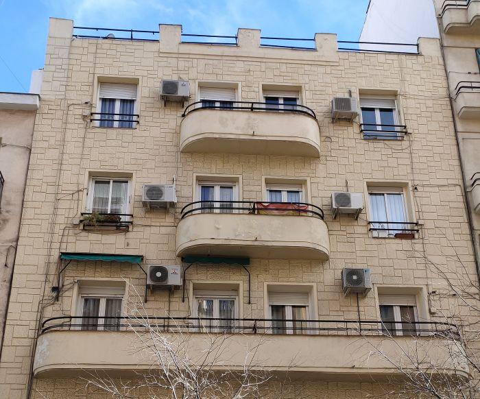 Madrid Art Decó Streamline Moderne en la calle Vallehermoso