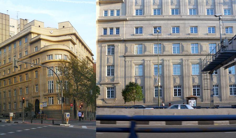 Madrid Art Decó Zigzag Moderne en Reina Victoria de Chamberí