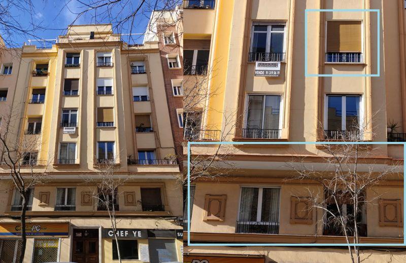 Madrid Art Decó Zigzag Moderne en calle Vallehermoso